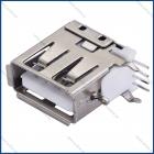 Разъем USB 2.0 на плату TUPE A боковой 6Х14