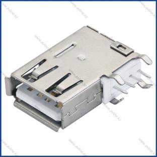Разъем USB 2.0 на плату TUPE A боковой 6X19