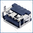 Разъем USB 2.0 на плату TUPE A угловой 6Х10